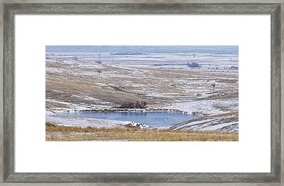 Snowy Hills 1 Framed Print