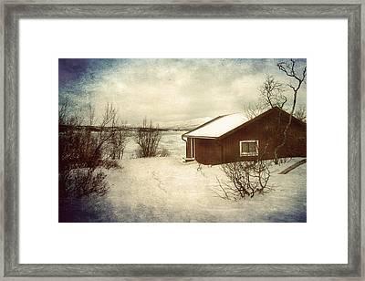 Snowy Landscape Framed Print