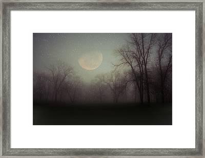 Moonlit Dreams Framed Print by Inspired Arts