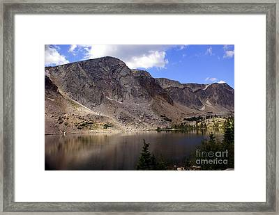 Snowy Mountian Loop 8 Framed Print by Marty Koch