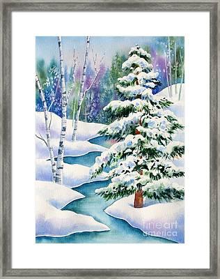 Snowy River Framed Print by Deborah Ronglien