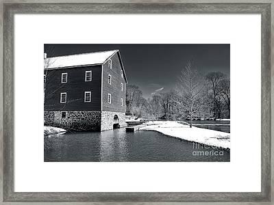 Snowy River Framed Print by John Rizzuto