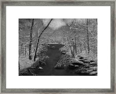 Snowy River Framed Print