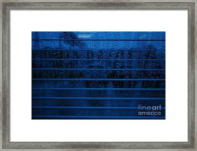 So Blue I Can Framed Print by Paulette B Wright