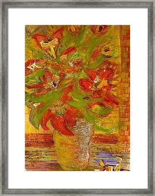 So Bright Framed Print by Anne-Elizabeth Whiteway