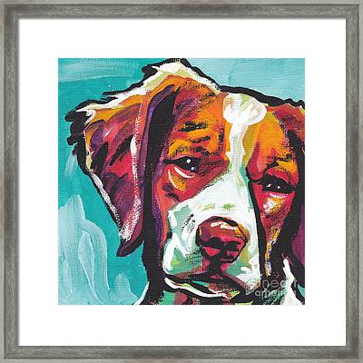 So Britt Framed Print by Lea S