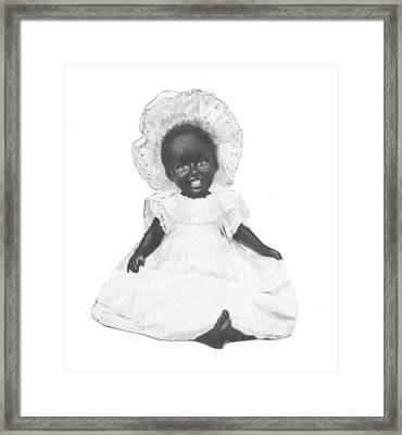 So Clean And White Framed Print