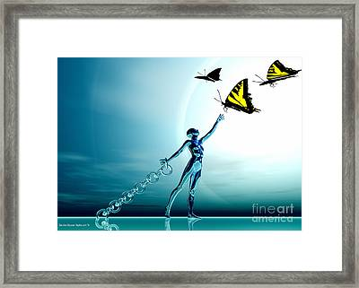 So Close Framed Print by Sandra Bauser Digital Art