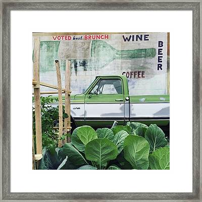 So Fresh. #minneapolis #beer #wine Framed Print
