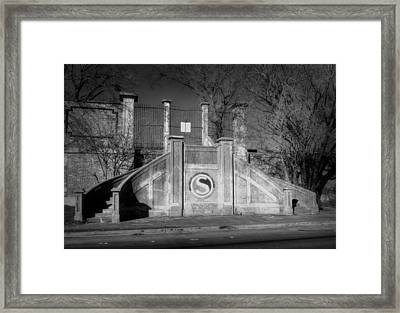 So. Gate Armour And Swift Framed Print by Fred Lassmann