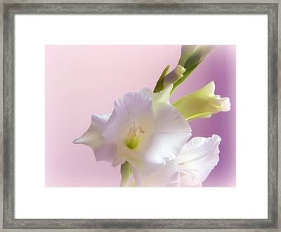 So Glad To See You Framed Print by Karen Cook