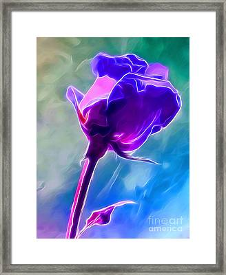 So In Love With You Framed Print by Krissy Katsimbras