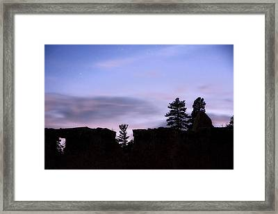 So It Began Framed Print by Mike McMurray