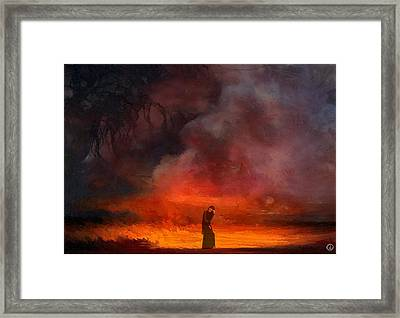 So Lonely Framed Print by Gun Legler