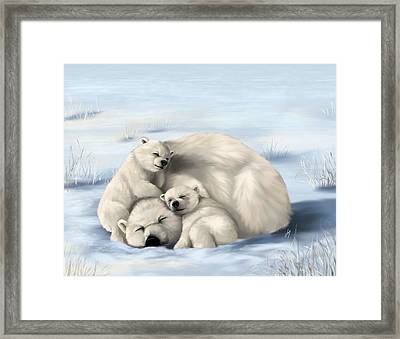 So Much Love Framed Print by Veronica Minozzi