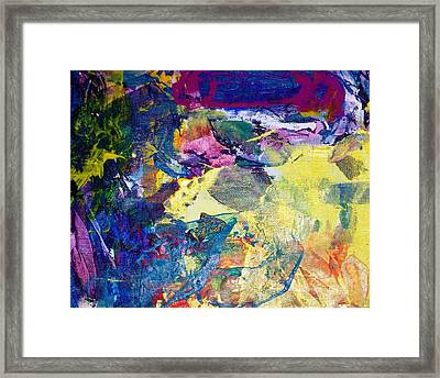 So Much More To Reach Beyond Now Framed Print by Bruce Combs - REACH BEYOND
