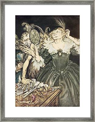 So Perfect Is Their Misery Framed Print by Arthur Rackham