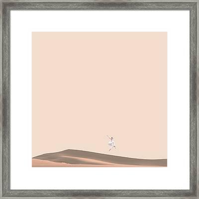 So Sand Framed Print