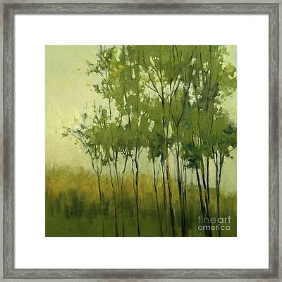 So Tall Tree Forest Landscape Painting Framed Print
