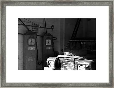 So That's Where You Are Framed Print by Jez C Self