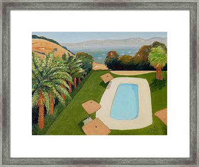 Framed Print featuring the painting So Very California by Gary Coleman
