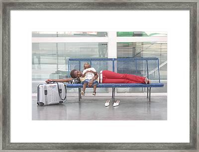 So Very Tired Framed Print by Jez C Self