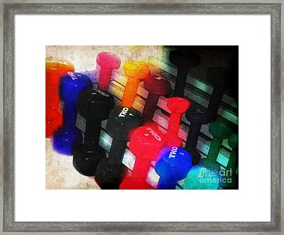 So You Come Here Often? Framed Print