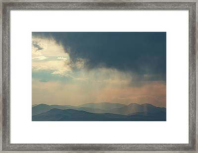 Soaking The Little Belts No. 2 Framed Print by Todd Klassy