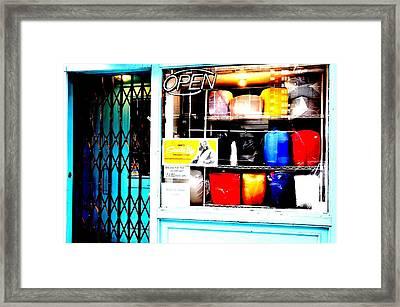 Soap N Suds Framed Print