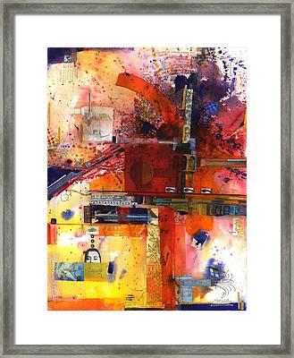 Soapbox Framed Print by Chris Monette Appleton