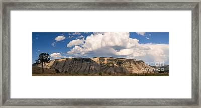 Framed Print featuring the photograph Soaring Above Mount Everts by Charles Kozierok