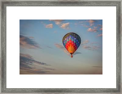 Soaring At Sunrise Framed Print