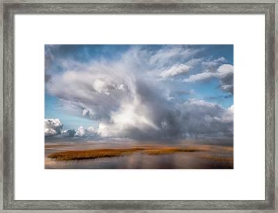 Soaring Clouds Framed Print
