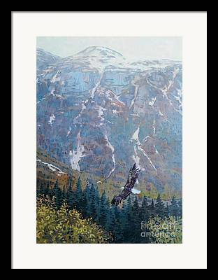 Alaskan Landscapes Framed Prints