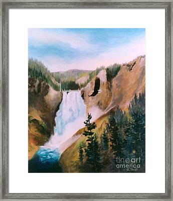 Soaring High II Framed Print