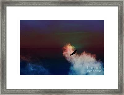 Soaring, Soaring Framed Print by Al Bourassa