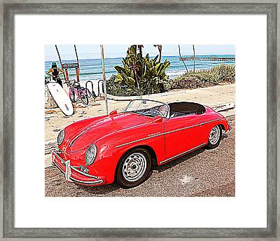 Socal Speedster Framed Print