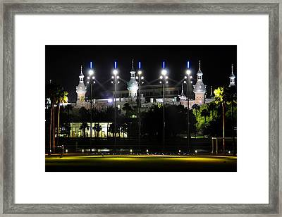 Soccer  Anyone Framed Print by David Lee Thompson