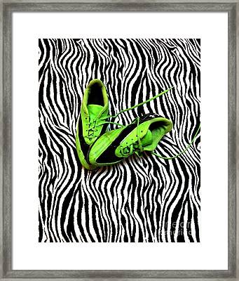 Soccer Girl Framed Print