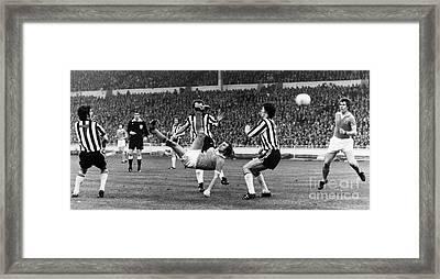 Soccer Match, 1976 Framed Print by Granger