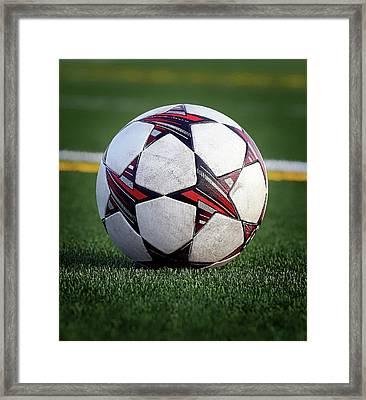 Soccer Stars Framed Print
