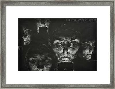Social Framed Print by Autumn Wimmer