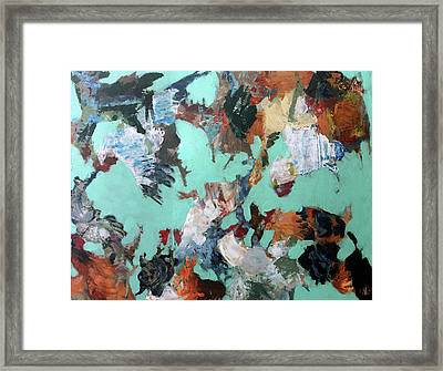 Social Interaction Framed Print by Dan Arcus