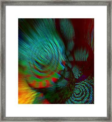 Social Perception Framed Print by Fania Simon