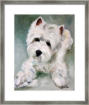 Socks Framed Print by Mary Sparrow