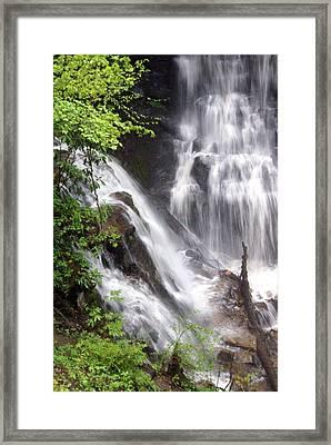 Soco Falls 2 Framed Print by Marty Koch