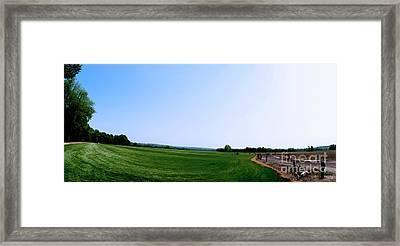 Sod Farm Framed Print