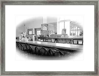 Soda Fountain Framed Print by Carol Groenen