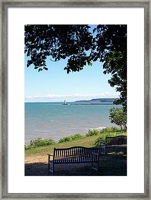 Sodus Point 1 Framed Print by Peter Chilelli