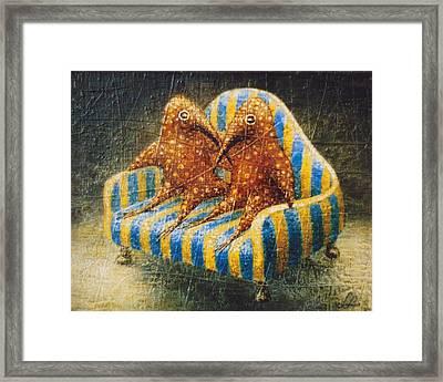 Sofa Framed Print by Lolita Bronzini